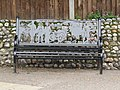 -2019-06-26 WW1 commemorative bench, Station road, Mundesley.JPG