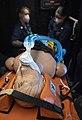 -USS Mount Whitney (LCC 20) medical evacuation drill in Gaeta, Italy, May 7, 2020- (49870988142).jpg