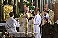 02018 0028(1) Adam Szal, Die Enthüllung und Segnung der neuen Statue des Erzengels Michael zu Sanok.jpg