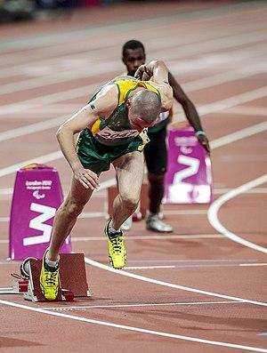 Tim Sullivan (athlete) - Sullivan at the 2012 London Paralympics