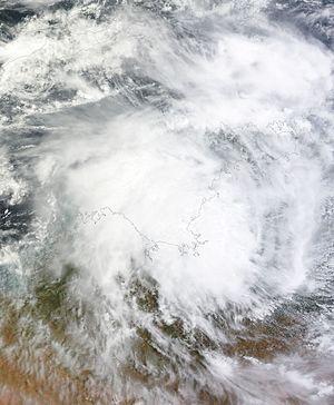 2015–16 Australian region cyclone season - Image: 05U 2015 12 25 0205Z