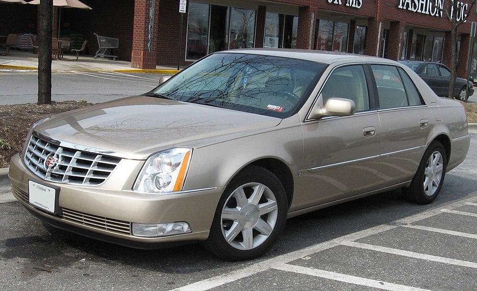 06-07 Cadillac DTS