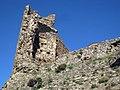 075 Castell de Montsoriu, restes de la torre sud-oest.jpg