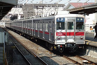 Tobu 10000 series - Tojo Line 10000 series 10-car set 11006, February 2008