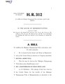 116th United States Congress H. R. 0000312 (1st session) - Mashpee Wampanoag Tribe Reservation Reaffirmation Act.pdf