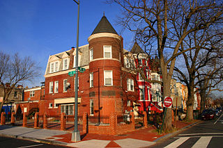 Truxton Circle Place in the United States