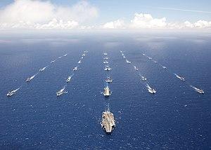 Carrier Strike Group 11 - RIMPAC 2012 (27 July 2012)