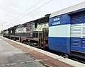 12785 Bangalore Express Empty rakes at Bolarum with WDM 3A Twins.jpg