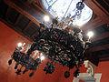 132 Castell de Santa Florentina (Canet de Mar), menjador de la família, salamons.JPG