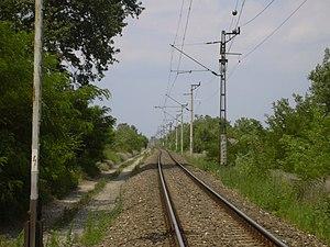 Cegléd–Szeged railway - Image: 140 es vasutvonal