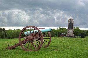 14th Regiment (New York State Militia) - 14th Brooklyn Battery Monument, Manassas