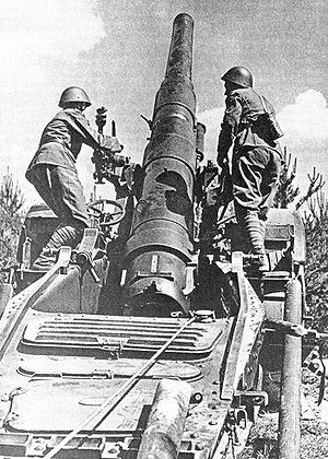15 cm Autokanone M. 15/16 - A 15 cm Autokanone M. 15/16