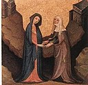 15th-century unknown painters - Triptych - Visitation.jpg