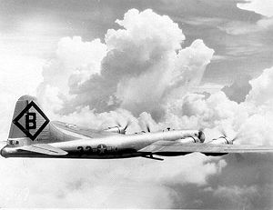 16th Bombardment Group - Unidentified B-29 Superfortress of the 16th Bombardment Group