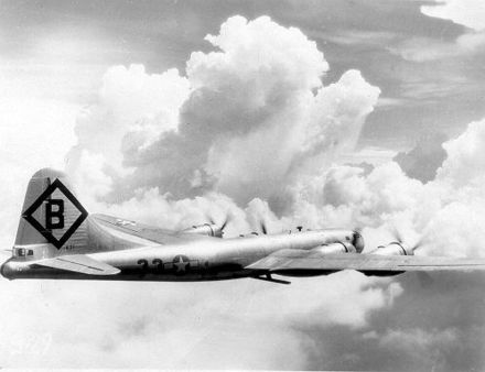 A B-29 of the 16th Bombardment Group during World War II in 1944 16thbg-b-29.jpg