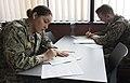 180308-N-BK435-0033 - PO3 Alicia Marquez takes the Navy-wide E-5 advancement exam in Deveselu, Romania.jpg