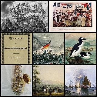 1840s Decade of the Gregorian calendar