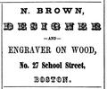 1851 Brown BostonDirectory.png