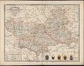 1860. Карта губерний Киевской, Черниговской, Волынской, Каменец-Подольской и Полтавской (этн).jpg
