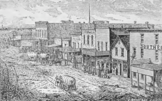 Hutchinson, Kansas - 1880s Hutchinson