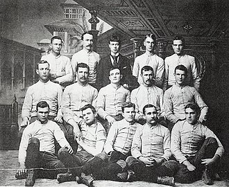 1889 Purdue football team - Image: 1889 Purdue football team