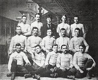1889 Purdue football team - Image: 1889 Purdue football team