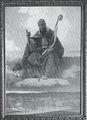 1892 Namenspatron Franz von Sales ueber der Einrichtung.jpg