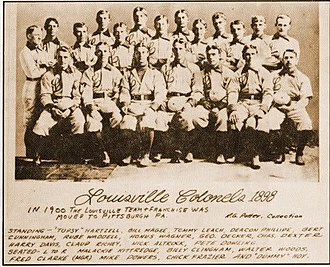 1898 Louisville Colonels season - The 1898 Louisville Colonels
