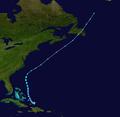 1903 Atlantic tropical storm 9 track.png