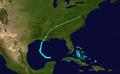 1905 Atlantic tropical storm 5 track.png