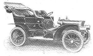 American Simplex - 1906 American Simplex Touring Car