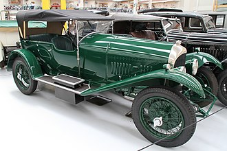 1924 24 Hours of Le Mans - Bentley 3-Litre tourer
