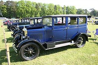 Morris Oxford - Oxford 4-door saloon 1927