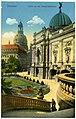 19318-Dresden-1915-An der Kunstakademie, Kuppel der Frauenkirche-Brück & Sohn Kunstverlag.jpg