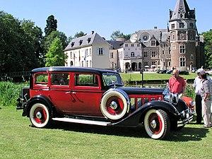 Minerva (automobile) - 1937 Imperia Minerva AP 22 CV limousine