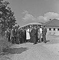 1957 Visite du ministre de l'agriculture Mr ANDRE DULIN au CNRZ-37-cliche Jean Joseph Weber.jpg