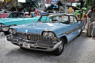 Full-size car - 1959 Plymouth Fury four-door hardtop (no B-pillar)