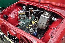 דופין גורדיני 1962, מנוע אחורי