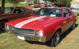 "AMC AMX - 1969 AMC AMX in ""Matador Red"""