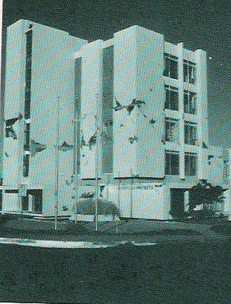 1972 Nicaragua earthquake - An office block damaged