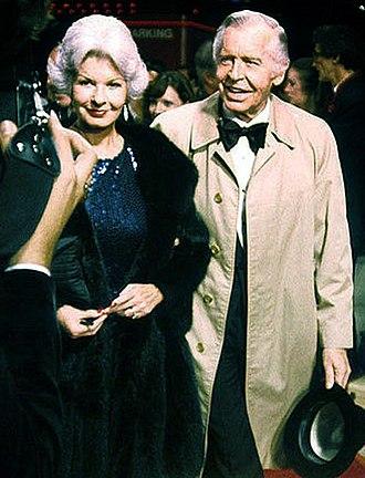 Milton Berle - Milton Berle and Ruth Cosgrove Berle, 1979.