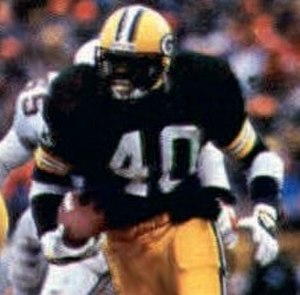 Eddie Lee Ivery - Ivery playing for the Packers during the 1982 season