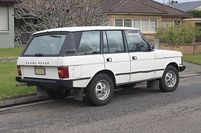 1987 Land Rover Range Rover 5-door wagon (20275565322).jpg