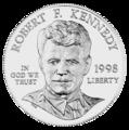 1998 RFK Silver Dollar Obverse.png
