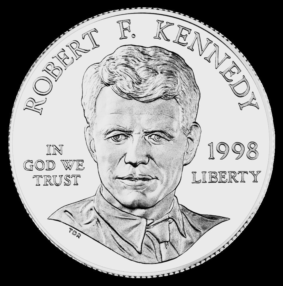 1998 RFK Silver Dollar Obverse
