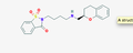 2-D Structure of Repinotan Hydrochloride.png