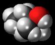 Space-filling model of the 2-methyl-2-butanol