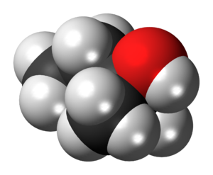 Tert-Amyl alcohol - Image: 2 Methyl 2 butanol 3D spacefill