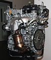 2001 Nissan QR25DE engine left.jpg