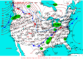 2003-03-13 Surface Weather Map NOAA.png